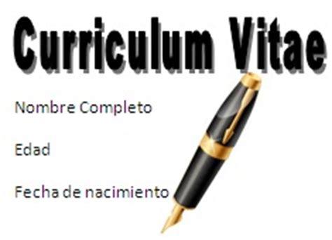 Como Hacer un Curriculum Vitae Plantillas, ejemplos y